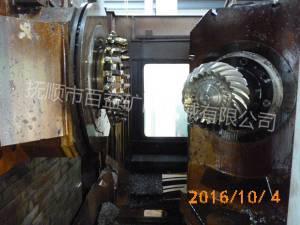 螺旋傘齒銑齒機